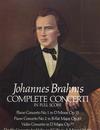 Dover Publications Brahms, J.: (Dover Score) Complete Concerti (mixed ensemble)