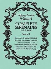 Mozart, W.A.: Dover SCORE Complete Serenades, Series 2