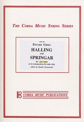Grieg, Edvard: Halling & Springar (violin solo or viola solo)