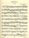 C.F. Peters Corelli, Arcangelo: Violin Sonatas, Vol.1. Op.5  No.1, 4, 8 (violin & piano)