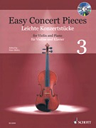 HAL LEONARD Mohr: Easy Concert Pieces, 14 Famous Pieces from 4 Centuries (violin, piano) SCHOTT