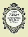 Mozart, W.A.: Dover SCORE Symphonies Nos. 22-34