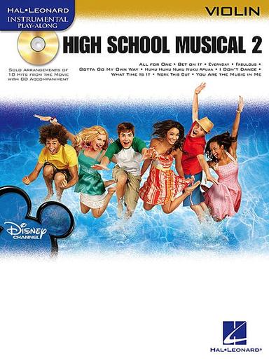 HAL LEONARD High School Musical 2 (violin & CD)