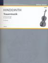 HAL LEONARD Hindemith, P. (Breuer, arr.): Trauermusik (viola and organ)