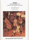 LudwigMasters Boellmann, Leon: Priere from Suite gothique, Op.25 (violin & piano)(cello & piano)