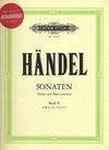 Handel, G.F.: Sonaten Band 2 (violin & piano or CD)