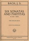 International Music Company Bach, J.S. (Helmesberger): Six Sonatas and Partitas (violin solo)