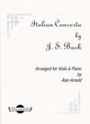 Bach, J.S. (Arnold): Italian Concerto (viola & piano)