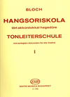 HAL LEONARD Bloch, Jozsef: Scale Studies Op.5 Vol.1 (violin)