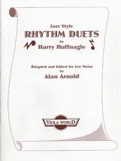 Huffnagle, Harry (Arnold): Jazz Style Rhythm Duets (2 Violas)