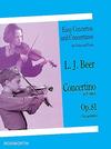 Bosworth Beer, Leopold: Concertino in d minor, Op.81 (violin & piano)
