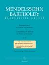 Barenreiter Mendelssohn, F. (Todd/Brown): Violin Concerto in E minor, Op.64 - Late Version (1845) - URTEXT (violin & piano) Bärenreiter