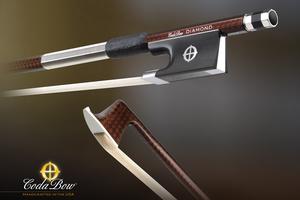 CodaBow CodaBow DIAMOND NX Violin Bow, with GlobalBow Technology (Full Size), USA