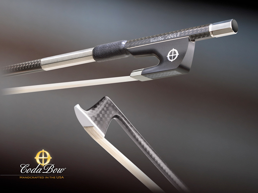 CodaBow CodaBow JOULE Violin Bow, extended range (Full Size)
