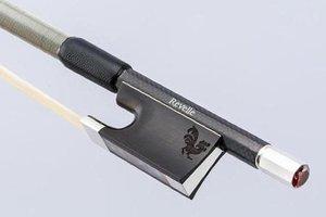 Revelle Revelle Falcon silver violin bow, braided carbon fiber, 4/4