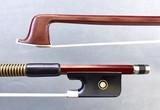 Better 4/4 student Brazilwood viola bow, unbranded