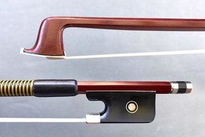 Better 4/4 student Brazilwood viola bow, unbranded