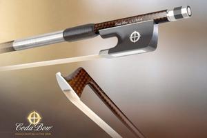 CodaBow CodaBow LUMA violin bow, with GlobalBow Technology, light weight (Full Size), USA