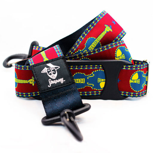 Strapsey Santa Fe case strap by ''Strapsey''  (sold individually)