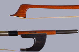 Marco Raposo Marco Raposo 3/4 German-style bass bow, ebony/nickel
