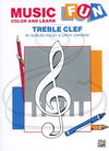 Alfred Music Halley & Johnson: Music Fun - Color & Learn - Treble Clef, Belwin Mills Publishing