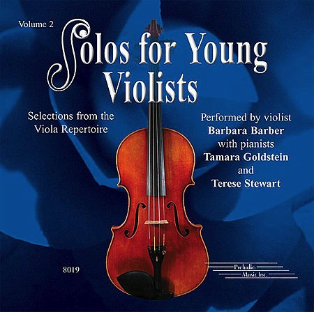 CD Barber: Solos For Young Violists, Vol. 2
