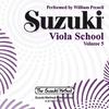 CD, Suzuki Viola, Vol. 5 REVISED (Preucil)
