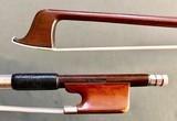 Helmuth Ellersieck silver 3/4 violin bow, GERMANY