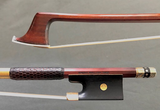 Heinz Dölling **** engraved gold-mounted viola bow, GERMANY