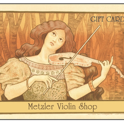 Metzler Gift Card - French Girl Violinist