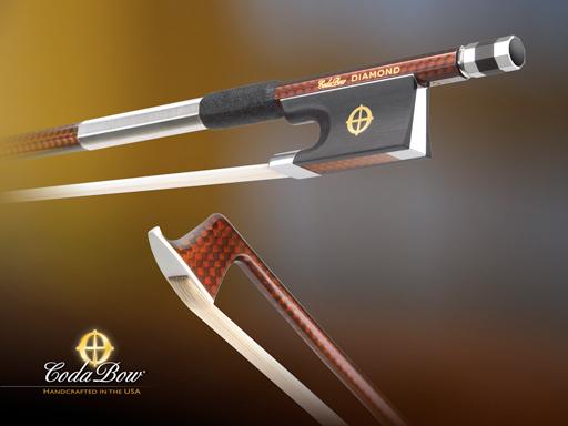 CodaBow CodaBow DIAMOND GX Violin Bow (Full Size)