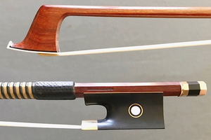 Ole KANESTROM gold-mounted violin bow, USA
