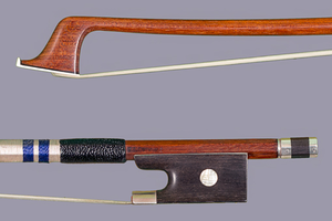 French PECATTE branded French violin bow