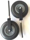 """New Harmony New Harmony Bass Wheel, aluminum adapter, foam wheel, 1/2"""" carbon fiber rod"""