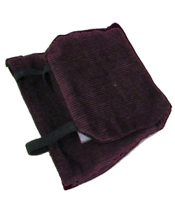 Kinder Chinder Kinder-Chinder Chinrest Pad - Small Black/Brown
