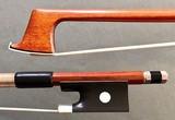 Japanese G. Jeandel viola bow, ebony/nickel
