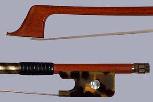 Fine cello bow gold & tortoise