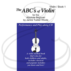 Carl Fischer CD - Rhoda: The ABC's of Violin for the Absolute Beginner, Bk.1 (violin)(CD)