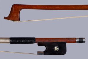 K. WERNER viola bow tortoise/silver GERMANY
