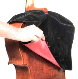 Kolstein Kolstein Brown Velvet Cello Secretary Bib