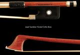Josef Sandner *J. Sandner* cello bow, nickel/ebony