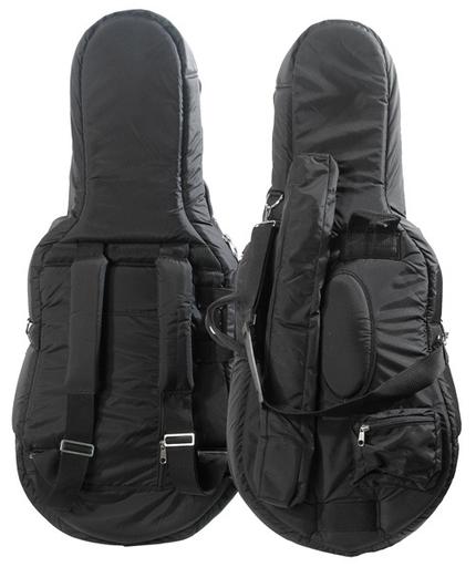 Bobelock Bobelock 1/8 cello bag (cover) #1010, Black