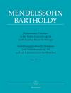 Barenreiter Brown: Performance Practices in the Violin Concerto, Op.64 and Chamber Music for Strings of Felix Mendelssohn Bartholody - URTEXT - Bärenreiter