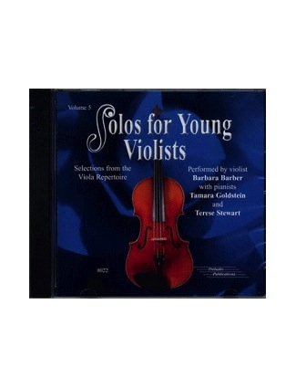 CD Barber: Solos For Young Violists, Vol. 5