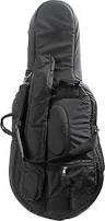 Bobelock Bobelock 3/4 cello bag (cover) #1010, Black