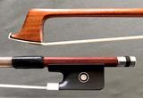 Mexican MIGUEL HUIPE silver viola bow, Pernambuco, MEXICO