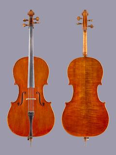 Zhong Sheng 4/4 cello ca 2003, unlabeled