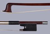 DODD silver violin bow branded BREYER H'NOS, Germany