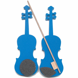 Foam Violin with Bow, 1/32