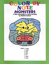 Alfred Music Kaplan, S.: Color by Note Monsters